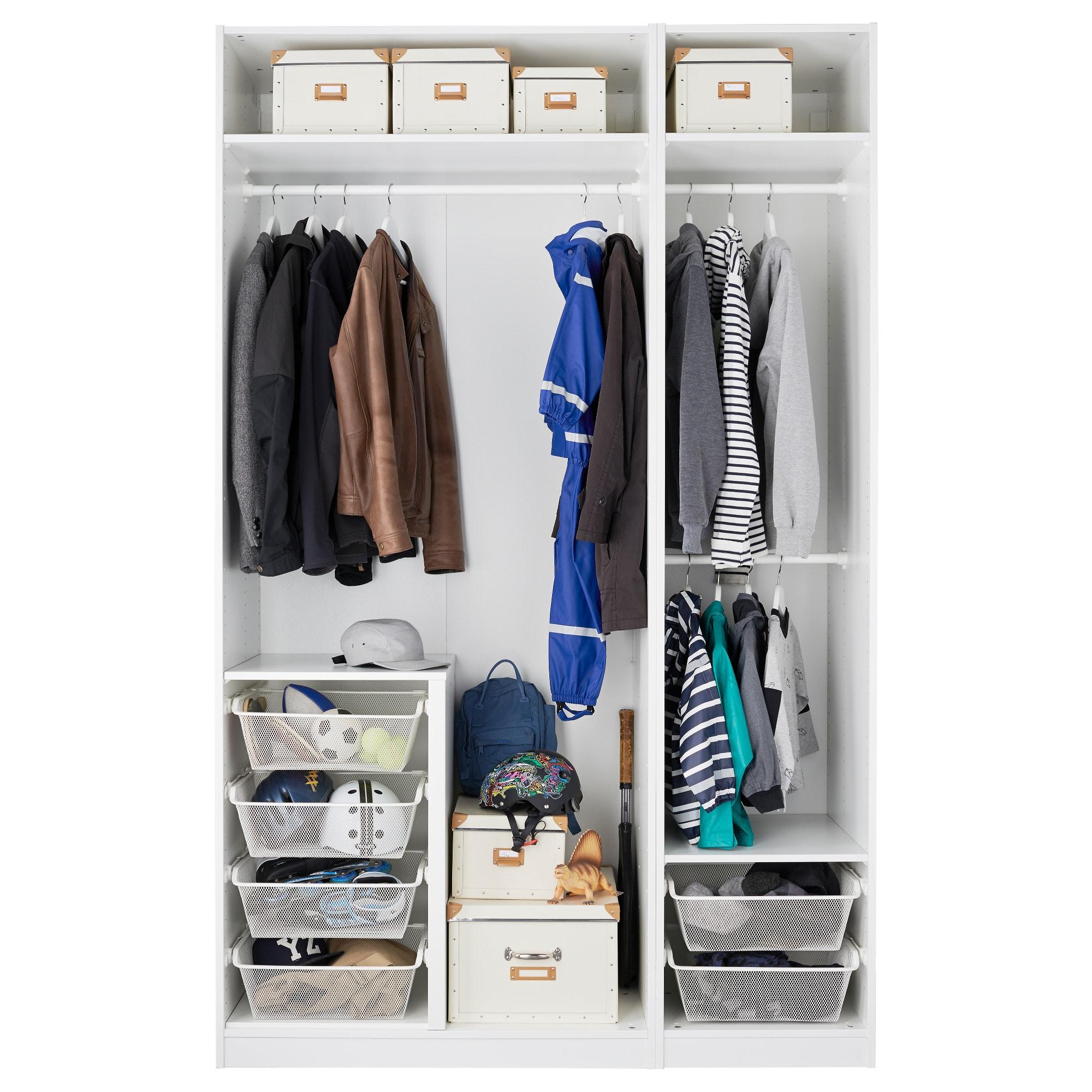 Wunderbar Schrank Ohne Türen Sammlung Von Ikea Kleiderschrank Vergleich ᐅ Überblick Aller Kombinationsmöglichkeiten