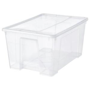 ikea kisten plastik mit deckel